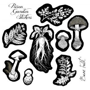 Poison Garden Stickers