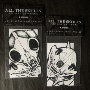 All the Skulls Stickers
