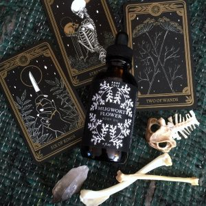 Mugwort Flower Body Oil