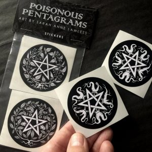 Poisonous Pentagram Stickers